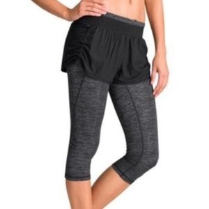 NEW Athleta Go Getter 2-in-1 Knickers Sz. L